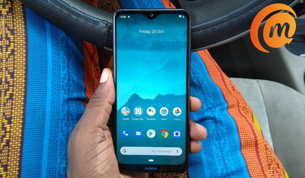 Nokia 6.2 review - ankara attire