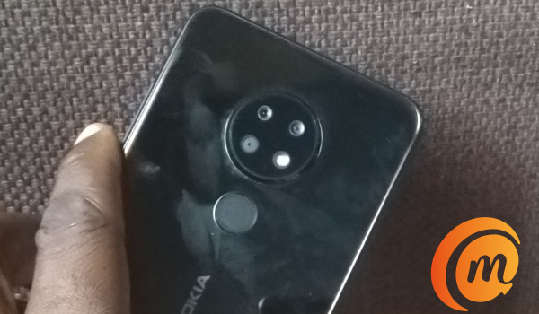Nokia 6.2 ceramic black camera