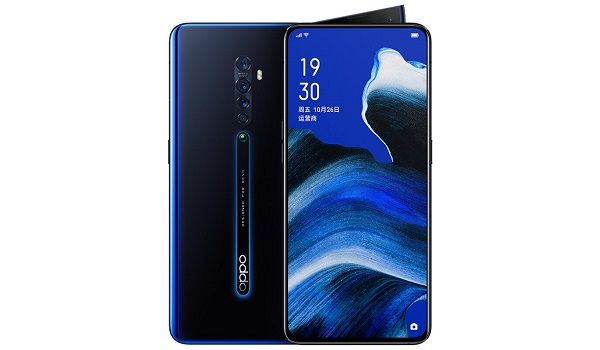 OPPO Reno2 front and back