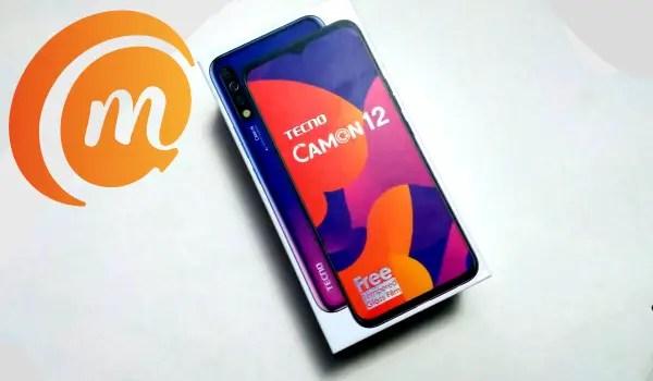TECNO Camon 12 box
