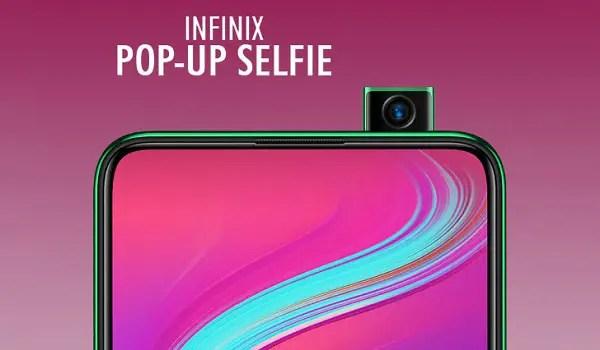 Infinix S5 Pro with pop-up selfie camera