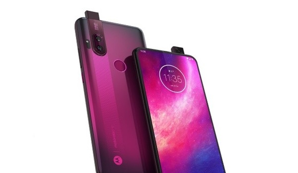 Motorola One Hyper front and back