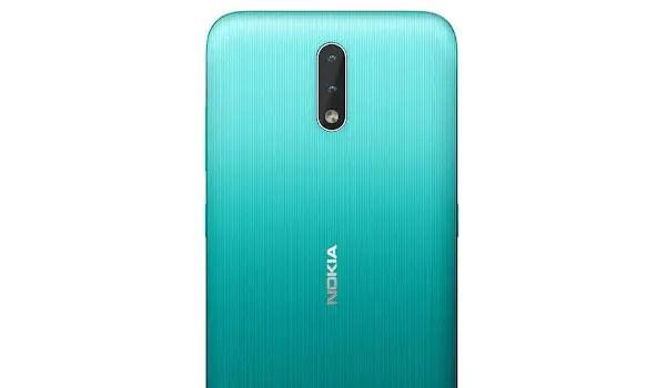 Nokia 2.3 rear dual camera