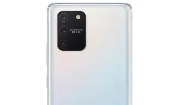 Samsung Galaxy S10 Lite quad camera