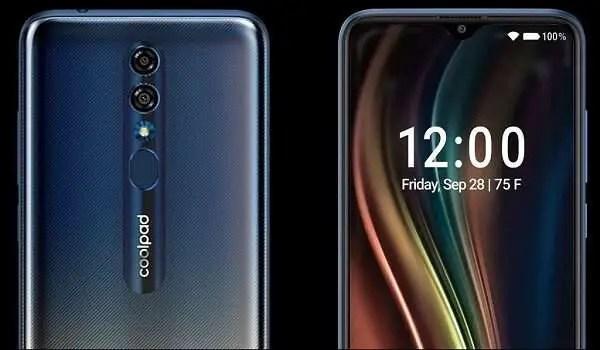 CoolPad Legacy 5G smartphone