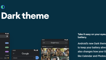 Android 10's Dark Theme