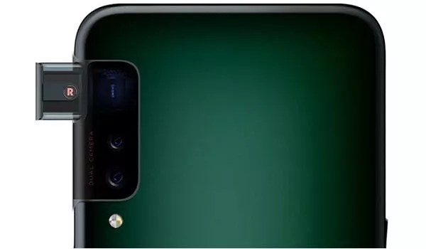 OPPO side pop-up selfie camera back