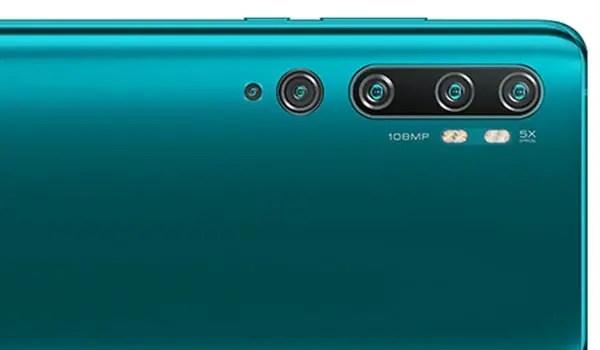 Xiaomi Mi Note 10 Pro 108MP penta camera