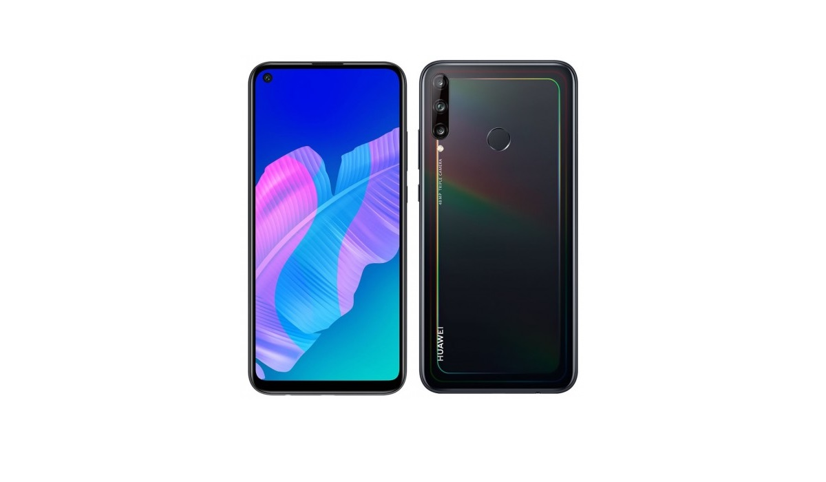 Huawei Y7p vs Infinix S5 Pro front and back