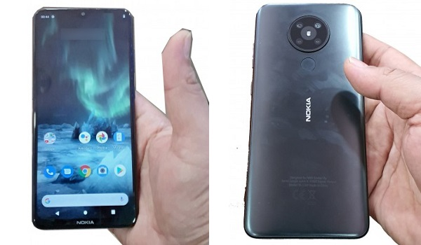 Nokia 5.2 Captain America front and back
