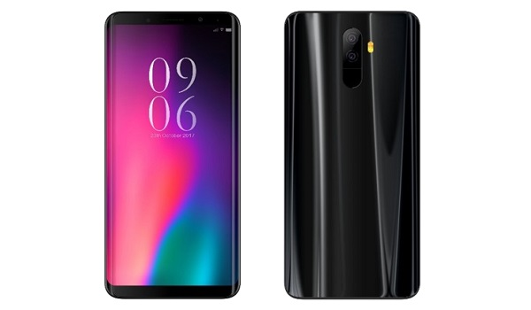ONYX A60 6GB RAM Android 9 smartphone front and back