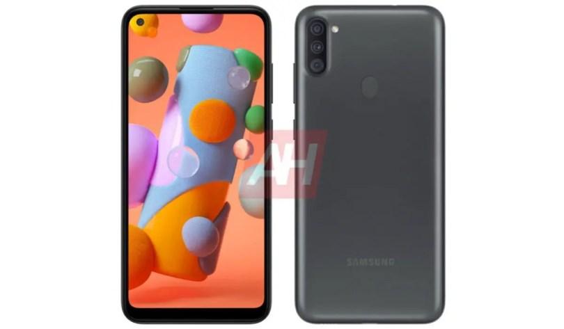 Samsung Galaxy A11 render
