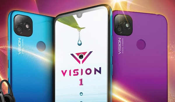 itel vision one with iphone 11 style camera bump