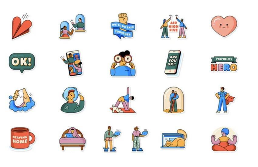 WhatsApp New Sticker Pack