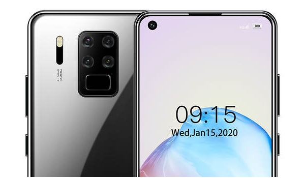 oukitel c18 pro punch hole selfie camera and rear quad camera