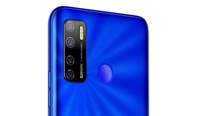 TECNO Spark 5 triple camera