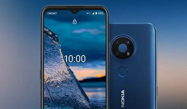 Nokia C5 Endi top