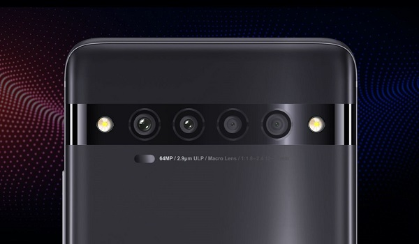 TCL 10 Pro 64MP rear quad camera