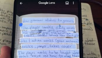 Google Lens lets you copy and paste handwritten copy to your PC