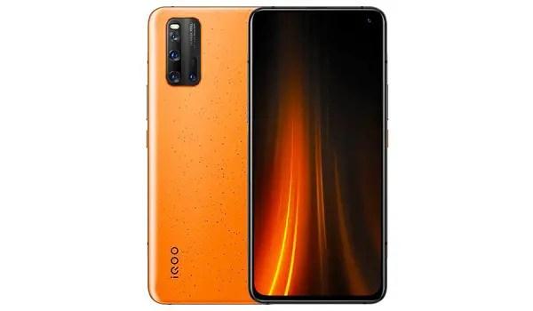 ViVo iQOO 3 -5G-Volcano-Orange