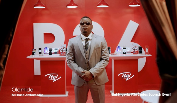 Introducing itel p36 series launch with Olamide