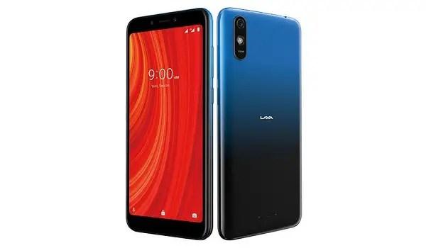 Lava Z61 Pro specs specifications - blue colour