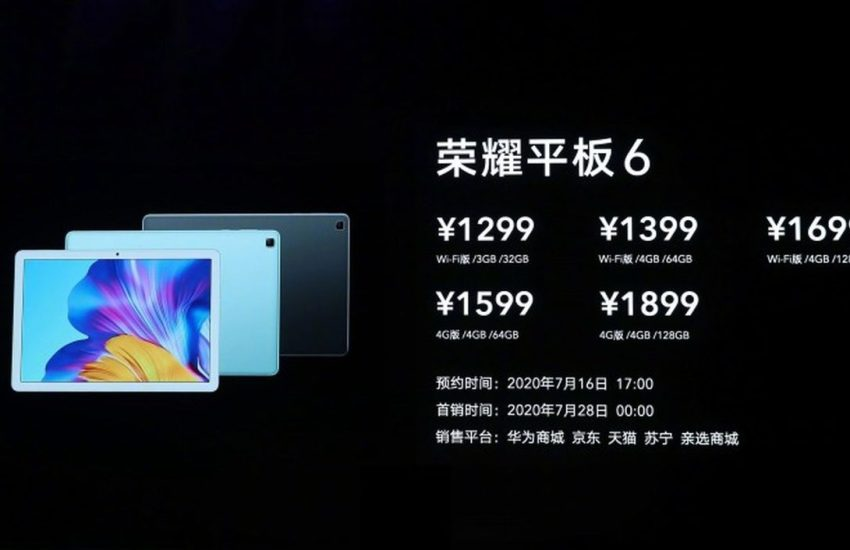 Honor launches ViewPad X6, ViewPad 6