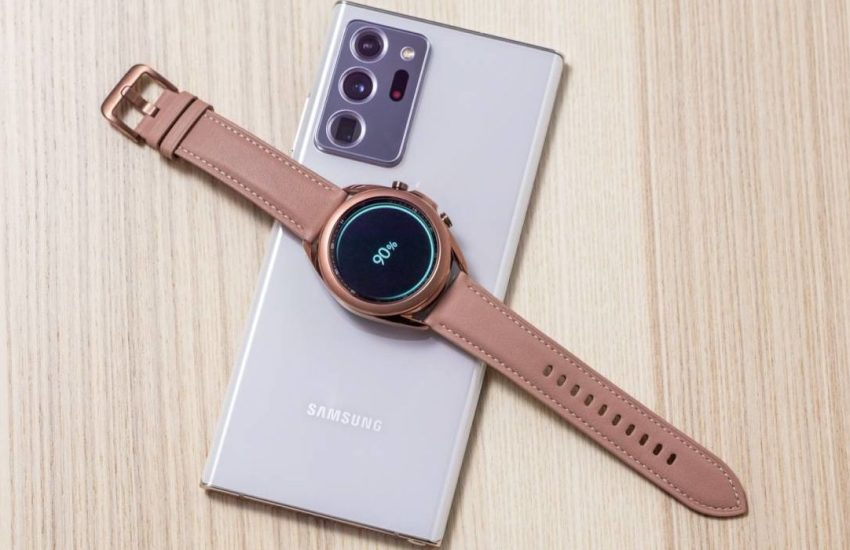 Samsung Galaxy Watch3 Receives New Update