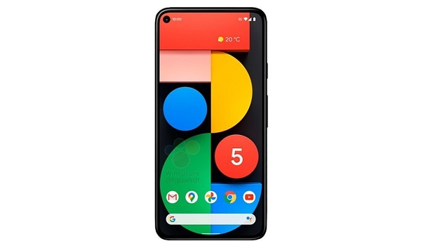 Google Pixel 5 single front