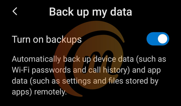 things to backup when getting a new phone