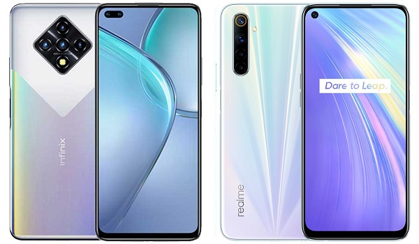 Infinix Zero 8 VS Realme 6 comparison