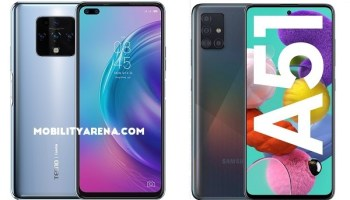 TECNO Camon 16 Premier vs Samsung A51 comparison