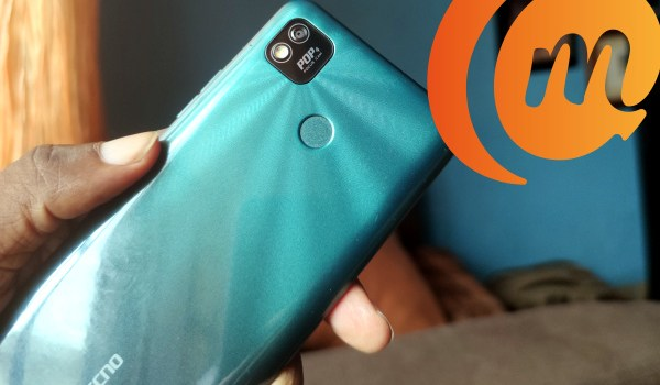 TECNO pop 4 rear