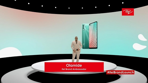 itel brand launch with Olamide 2