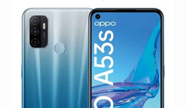 oppo a53s front and rear cameras