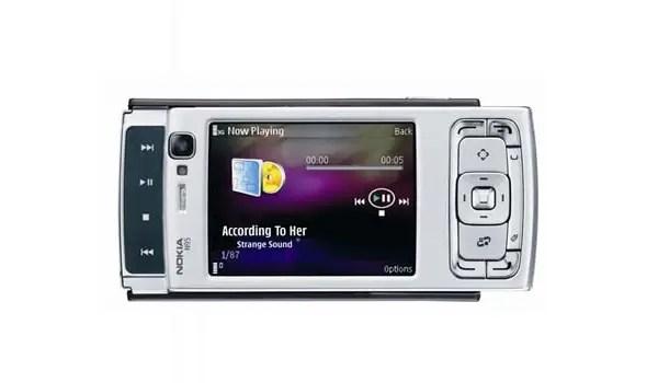 Nokia N95 sliding mechanism