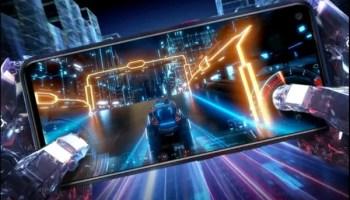 TECNO pova gaming smartphone with system turbo