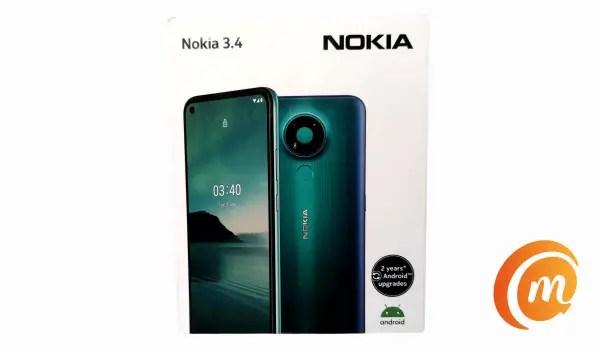 Nokia 3.4 box