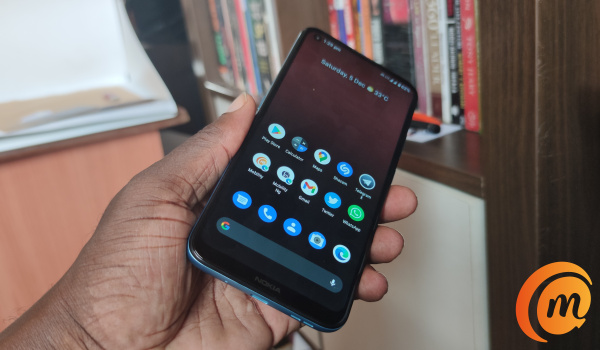 Nokia 3.4 review in hand