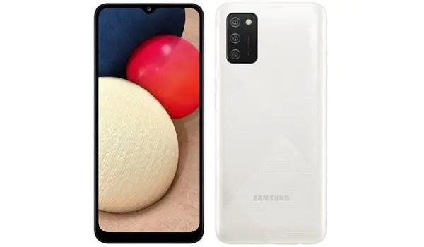 Samsung Galaxy M02s specs cameras