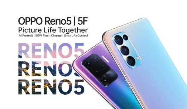 OPPO Reno5 - 5 F launch in Nigeria