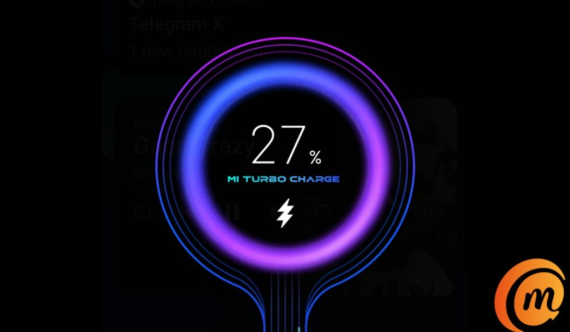 mi turbo charge on Xiaomi mi note 10 pro