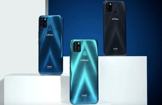 Infinix Smart 5 vs Samsung Galaxy A02 top