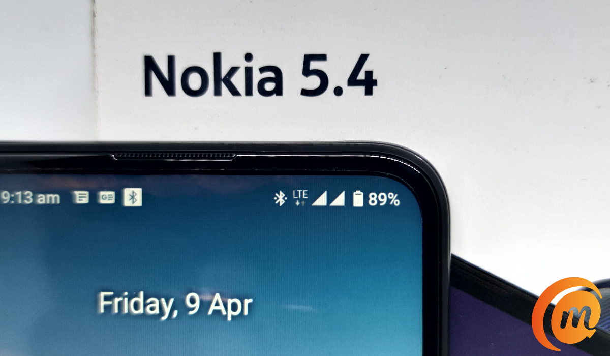Nokia 5.4 mobile network signal