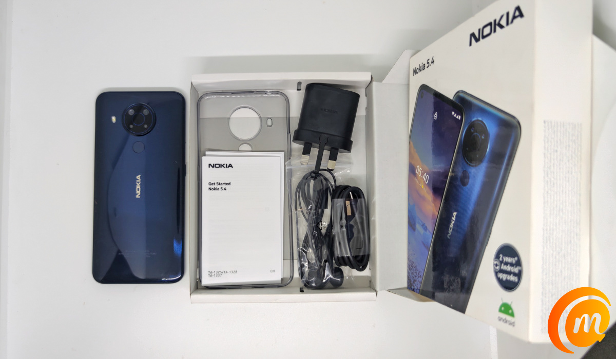 Nokia 5.4 review - in the box