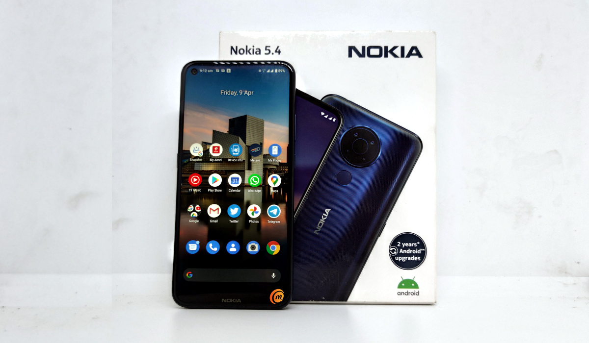 Nokia 5.4 review with box