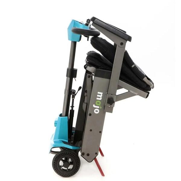 Mojo Folding Mobility Scooter folded