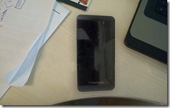 Blackberry London leaked pictures 2