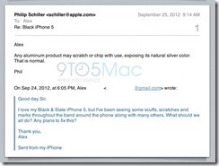 Phil Schiller says iPhone 5′s scratches right out of the box is 'normal'
