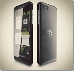 Possible Blackberry Z10 Specs